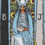 Diễn Giải Xuôi của Lá Bài The High Priestess